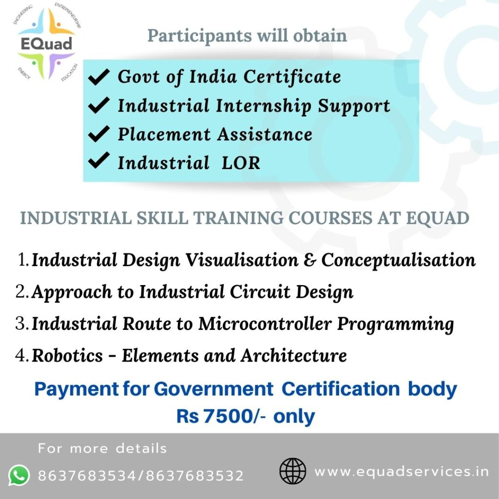Detailed Industrial Skill Training for Engineering Students